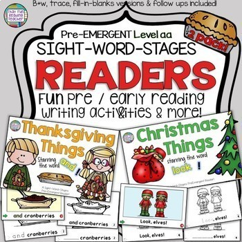 Guided Reading: Level aa Thanksgiving Sight Word Reader an