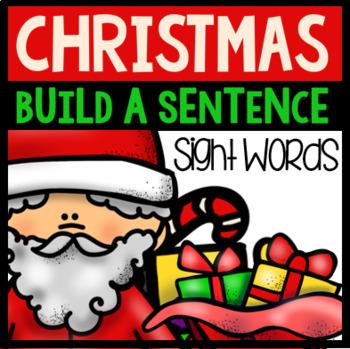 Christmas Sight Word Sentences