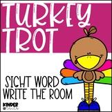Thanksgiving Sight Word Write the Room {Freebie}