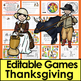 Thanksgiving Activities: Sight Words Literacy Game Boards - SET 2-Last 120 Dolch