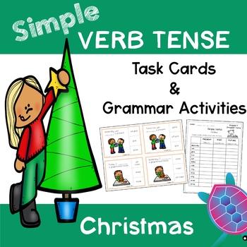 Simple Verb Tense - Christmas