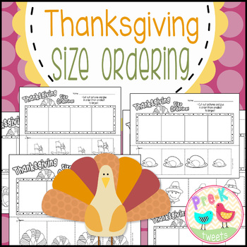 Thanksgiving Size Ordering
