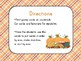 Thanksgiving Size Ordering Cards