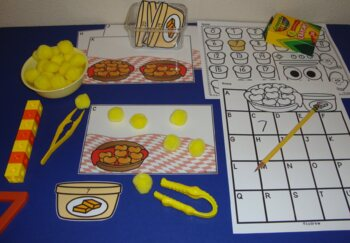 Thanksgiving Centers Size Sorting Visual Discrimination Math Preschool K SPED