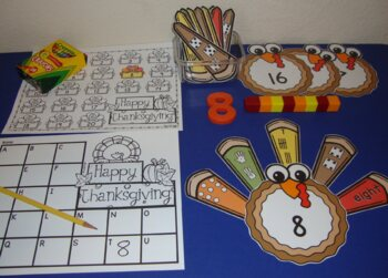 Thanksgiving Centers Activities Size Sorting Shapes Visual Discrimination Math