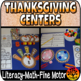 Thanksgiving Centers Size Sorting Visual Discrimination Ma