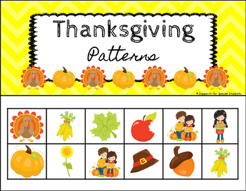 Thanksgiving Size and Pattern Pack