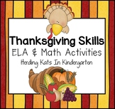 Thanksgiving Skills Pack!