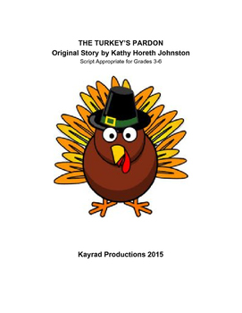 Thanksgiving Skits for Grades 3-6