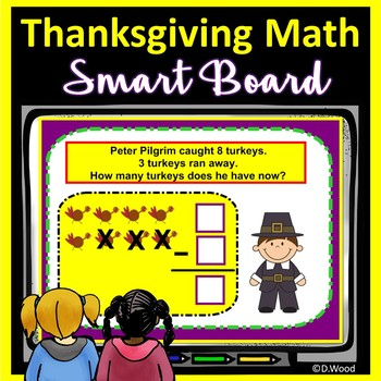 SMART Board Math for Thanksgiving