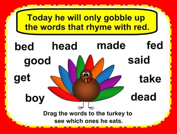 SMARTboard Thanksgiving Turkey Time Fun