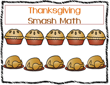 Thanksgiving Smash Math Mat