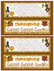 Thanksgiving Snack Mix {Gobble Gobble Goodies} {Fun Poem} and {Bag Toppers}