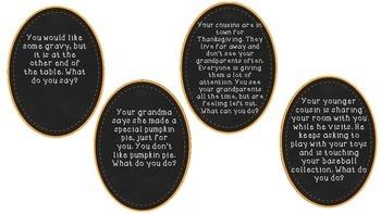 Thanksgiving Social Skills!