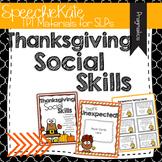 Thanksgiving Social Skills
