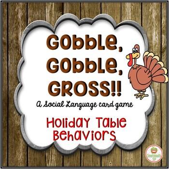 Thanksgiving Social Skills Bundle