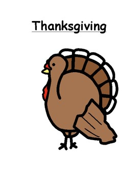 Thanksgiving Social Story