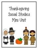 Thanksgiving Social Studies Mini Unit