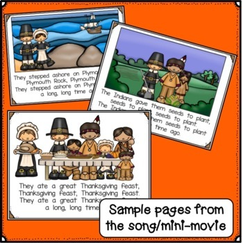 Thanksgiving Song! Shared Reading Singable