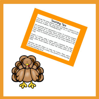 El Día de Acción de Gracias/Thanksgiving Song & Activities