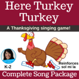 Thanksgiving Song & Activity | Turkey Game | mp3s, Music, Lessons, SMART & Video