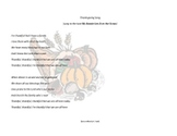 Thanksgiving Song (Christian Version)