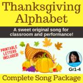 Thanksgiving Song | Thanksgiving Alphabet by Lisa Gillam |