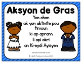 Thanksgiving Song and Writing Activity in Haitian Creole: church version