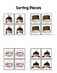 Thanksgiving Sort by Picture File Folder Game for students