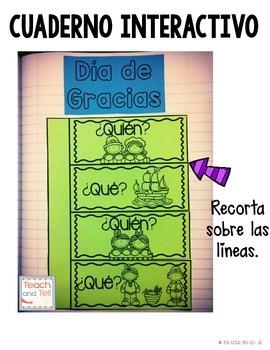 Thanksgiving Spanish Dia de Gracias