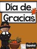Thanksgiving Spanish Dia de Gracias