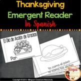 Thanksgiving Spanish Emergent Reader-El Día de Acción de Gracias