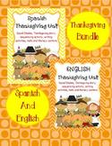 Thanksgiving: Spanish and English Bundle