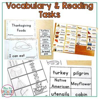 Thanksgiving: Special Ed Thematic Unit