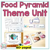Food Pyramid: Special Ed Thematic Unit