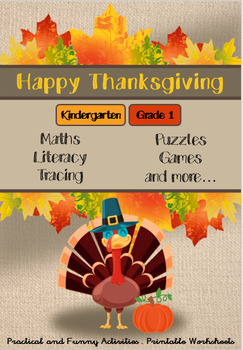 Thanksgiving Special for Kindergarten and Grade 1 - Maths, Literacy and Games