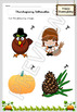 Thanksgiving Special for Pre-K - Fun and educational Worksheets - Printable
