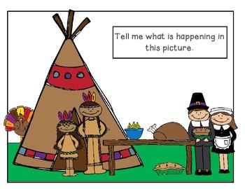 Thanksgiving Speech & Language Activities