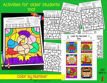 Thanksgiving  No-Prep Speech Therapy Activities with Yes-No & WH Questions