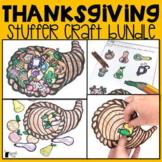 Thanksgiving Speech Therapy Stuffer Craft Bundle