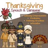 Thanksgiving Speech and Language