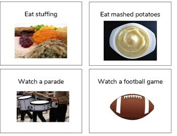 """Thanksgiving Speech and Language Activity: """"Would You Rather?"""" Style"""