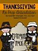 Thanksgiving Speech and Language Therapy Bundle