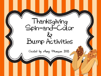 Thanksgiving Spin-and-Color & Bump!
