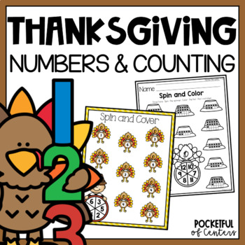 Thanksgiving Spin and Cover Numbers 1-12