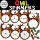 Thanksgiving Spinners Clip Art Bundle {Thanksgiving Clip Art}