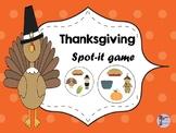 Thanksgiving Spot-it Game / Jeu Spot-it de l'Action de Grâce