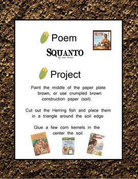Thanksgiving - Squanto - Poem n' Project FREE