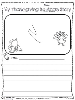 Thanksgiving Squiggle Stories