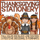November & Thanksgiving Stationery Printable Pack